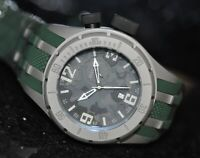 Invicta Men's Rare Coalition Forces Swiss Grey Camouflage Dial Poly Watch 10015