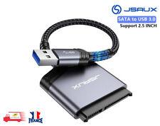 """SATA vers USB 3.0 2.5"""" HDD SSD Disque Dur Disque Câble Adaptateur SATA III JSAUX"""