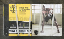 Golds Gym 40lb Vinyl Adjustable Dumbbell Weight Set *IN HAND SHIPS FAST*