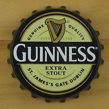 Guinness EXTRA Bottle Opener Fridge Magnet, Cream/Black Pop Off or Twist Off NEW