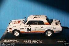 ROLLS ROYCE PROTO JULES RALLYE DAKAR 1981 NOREV 1/43 PARIS SIRTE LE CAP
