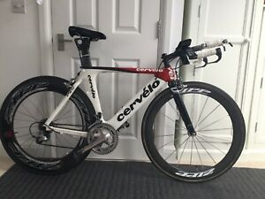 Cervelo P2 + Zipp 808 wheels + Pro Carbon cockpit