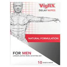 VigRX Delay Wipes Male Enhancement Desensitizer. 1 Month Supply