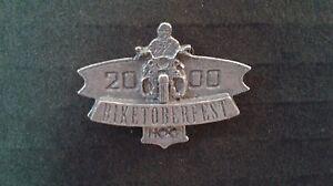 Biketoberfest 2000 Harley Owners Group HOG Motorcycle Pin For Vest Jacket Hat