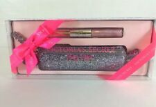 Victoria's Secret NOIR TEASE Ultimate Gift Bag Set Purfume Lip Gloss Duo NEW
