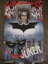 2008 HOT TOYS THE JOKER  DARK KNIGHT 1:4 SCALE FIGURE BATMAN toy Harley Quinn