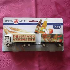 Truck Advertising Rossmann For Transport Juice Bio / Packaging Original