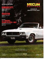 1970 BUICK GS 455 STAGE I CONVERTIBLE GLACIER WHITE ~ GREAT AUCTION AD