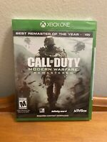 Call of Duty Modern Warfare Remastered (Xbox One) - NEW/FACTORY SEALED