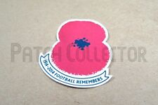 Poppy Remembrance 2014 Sleeve Soccer Patch / Badge