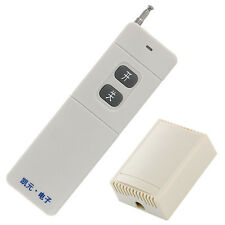 12V Wireless 2 Channel RF Remote Control Switch Relay output 1000m flight bulb