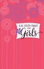 Study Bible for Girls-KJV (Hardback or Cased Book)