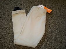 Nwt R.J Classic Mason Jodhpurs Tan Side Zip Slash Pocket Juniors Size 10R