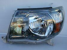 2005-2010 TOYOTA TACOMA TRD SR5 LH DRIVER DARK BEZEL Headlight Headlamp OEM