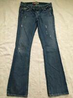 BKE Denim Sabrina Stretch Womens Jeans Medium Wash 29 x 33 1/2Actual 32 x 32