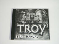Battle for Troy PC CD-Rom 2004 Windows Real-Time Strategy Game TESTED FREE SHIP