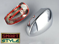 Chrome door wing mirror covers for Fiat 500 - 500C 2007+ also Fit Punto Grande-0
