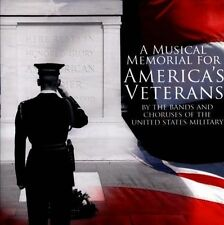NEW A Musical Memorial for America's Veterans (Audio CD)