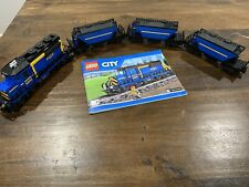 MOC LEGO Classic 12v 9v City Train 60052 Locomotive and Hopper Wagon Carriages