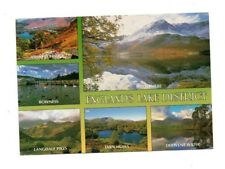 Cumbria - The Lake District - Multiview Postcard Franked 1995