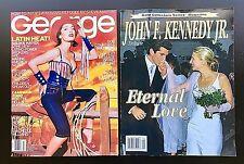 JFK Collection: JFK, JR. TRIBUTE, TV GUIDE, & GEORGE July 1999 Magazines