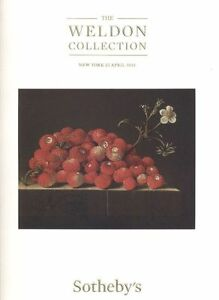 Sotheby's Catalogue  New York, THE WELDON COLLECTION  22/04/2015   HB