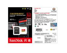 SDSQXAF-064G 64GB MicroSD 4K HD 100MB/s Extreme Memory Card U3 SDXC TF SanDisk