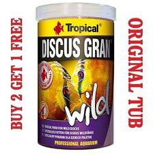 Discus GRAN sauvage Premium aliment complet pour poissons tropicaux véritable baignoire 250 ml / 85g.