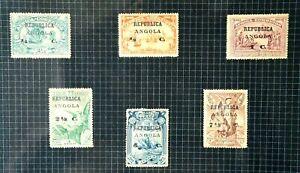 Angola 1914 - Mounted mint no gum