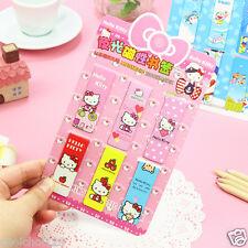 Hello Kitty Luminous Magnetic Magnets Bookmark / Clips x 6pcs KK729