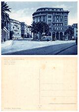 4012) SAMPIERDARENA (GENOVA) PIAZZA MONTANO ANIMATA, CARTELLO PER AUTOSTRADA.