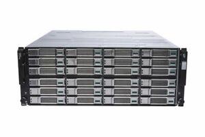 Dell EqualLogic PS6210E 24x 4TB SAS HDD 96TB iSCSI SAN Storage Array 10GBe/10GB