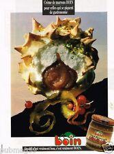 Publicité advertising 1990 La Crème de Marrons Boin