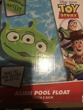 Official Disney Toy Story Outdoor Swimming Giant Alien Shaped Float Garden Beach