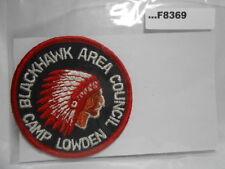 CAMP LOWDEN BLACKHAWK AREA COUNCIL F8369