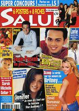 Magazine SALUT n°88, Britney SPEARS, BUFFY, ANGEL, Billy CRAWFORD, LORIE, LESLIE