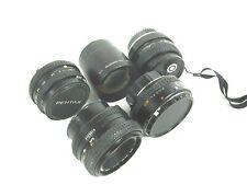 Lot of 5 Lenses & Converters Tokina, Minolta, Pentax, Olympus, Focal, Free Ship