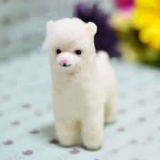 Alpaca Needle Felting Kit for Beginner with Enough Accessories 10cm