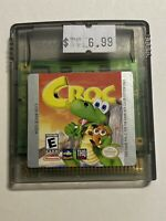 🔥 💯 WORKING NINTENDO GAMEBOY COLOR RARE GAME CARTRIDGE 🔥 CROC 🔥FREE SHIPPIN
