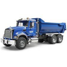 Fratello Mack Granite half-pipe Kipp-Camion, cantieri veicolo, modello di auto 02823 BLU