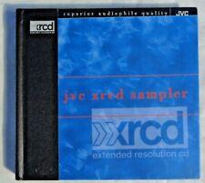 JVC XRCD Sampler 1996 JVCXR-0001-2 Hard Cover Booklet Extended Resolution CD EX