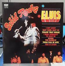 Elvis Presley 2LP Solid Rocks (Green Label) (RCA FJL2 7120), France) EX / NM+
