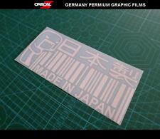 MADE IN JAPAN DOMO-KUN JDM Vinyl Car Decal sticker