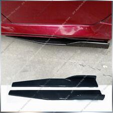 Universal Car Side Skirt Rocker Splitters Winglet j Shovel Decorative Winglet