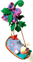 Dept 56 Mother Goose Rock A Bye Baby Christmas Ornament Retired