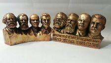 Karl Marx&Engels&lenin&Stalin bust (statue)  H=10cm