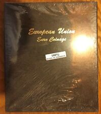 FIRST YEAR ISSUE COMPLETE SET EURO BU COINS 96 COINS 1999-2002 W/ DANSCO ALBUM
