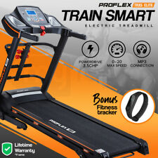 PRESALE Electric Treadmill w/ Fitness Tracker Home Gym Exercise Equipment