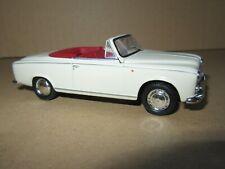 689Q Norev Hachette Peugeot 403 Cabriolet Ouvert 1960 Beige 1:43