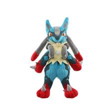 Pokemon Doll plush 11' stuffed toy  Mega Lucario Christmas New birthday gift